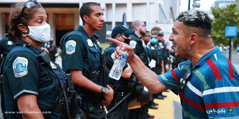 معنی سرپیچی و تمرد نسبت به مامور دولت