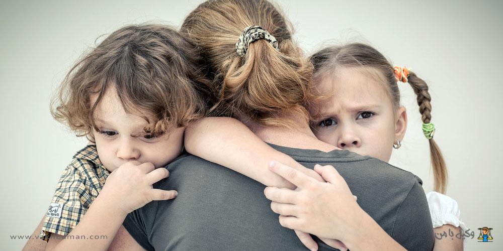 ملاقات با فرزند قبل و بعد از طلاق